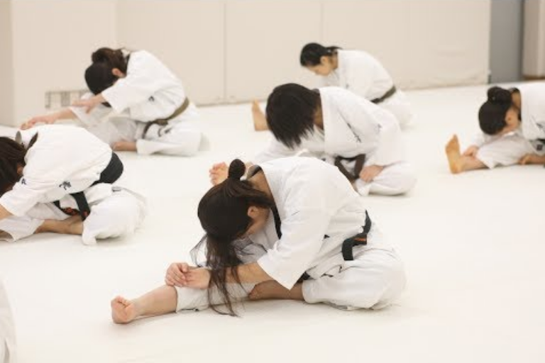 Image Showing Group of Kids Doing Their Training Exercises.