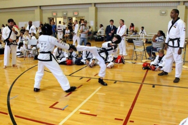 Image of A Martial Arts Training Hall.
