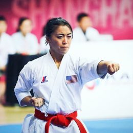 Sakura Kokumai - A great Female Karate Master In Olympics.