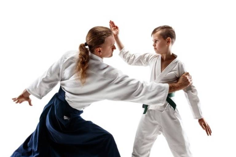 An image representing a pratice session in Martial Arts